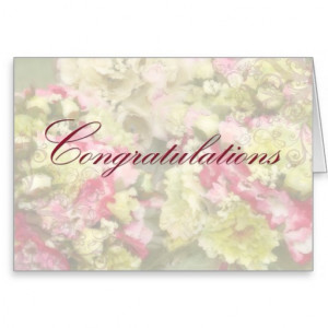 Congratulations of your Wedding Day Card-quote