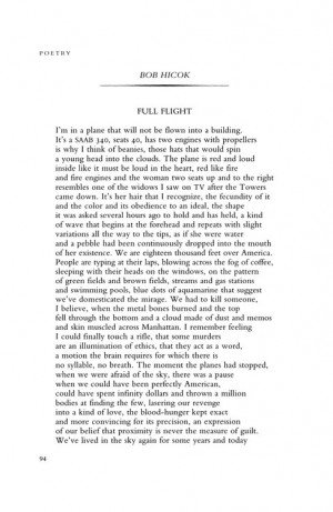 ... paired this poem with today. We've got more 9/11 poems here, too