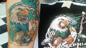 Philadelphia Eagles football team piece by Pabby at IV Horsemen Tattoo ...