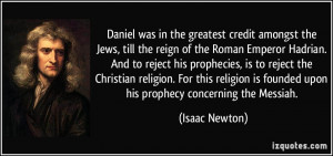 Daniel was in the greatest credit amongst the Jews, till the reign of ...