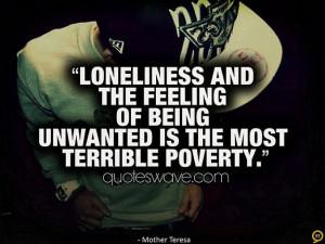 feelings quotes, loneliness, poverty, poverty quotes