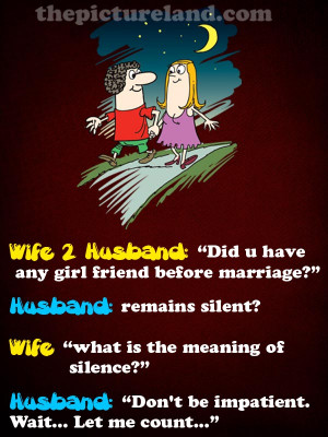 Cute Discussion Between Husband And Wife With Funny Pictures