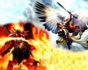 Image - Good vs Evil.jpg - Battle of Good and Evil Wiki