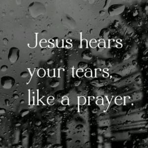Prayers unspoken. Needed to hear this today!