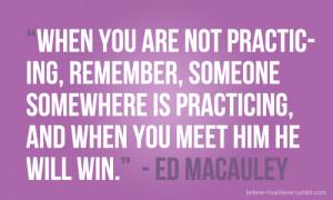 Ed Macauley Quotes on Practice