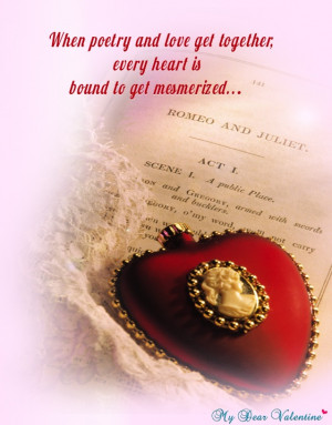 When poetry and love get together, every heart is bound to get ...