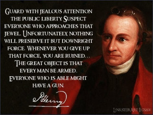 Thomas Paine Quotes Revolution Guard with jealous attention