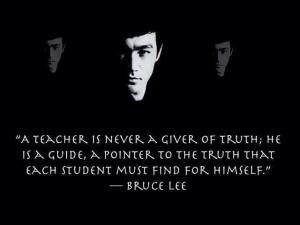 Bruce Lee Quotes Teacher
