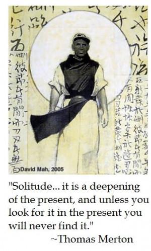 Thomas Merton on Solitude #catholic #quotes