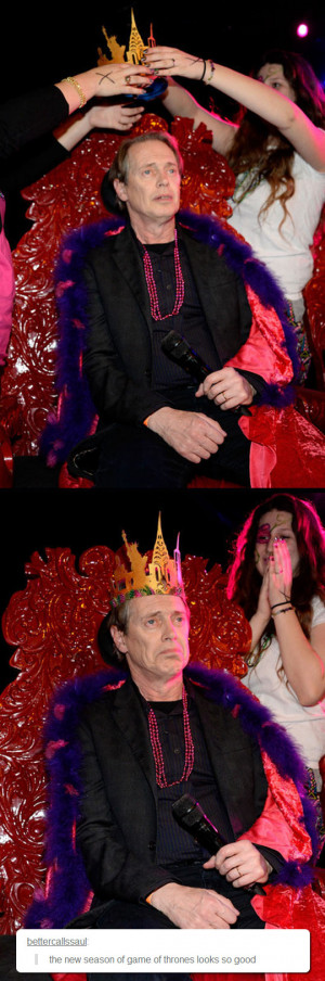 Steve Buscemi Was Crowned Mardi Gras King