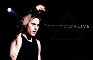 Actor, jared leto, quotes, sayings, motivational, live, life