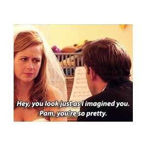 the office jim and pam wedding quotes - Google Search | Movies & TV