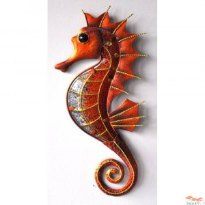 Seahorse Metal And Glass