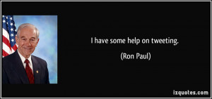 More Ron Paul Quotes