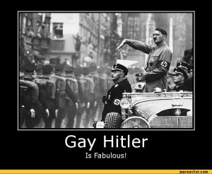 Gay hitler is fabulous / funny pictures :: nazi :: Hitler ...