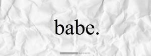 babe hi babe
