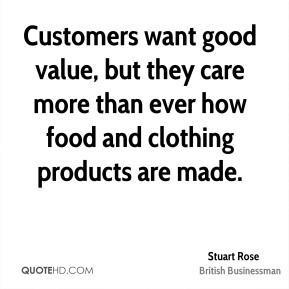 Stuart Rose Quotes