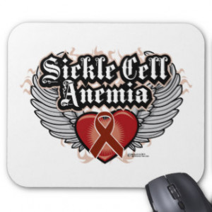 Sickle Cell Anemia Ribbon