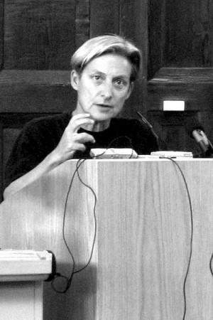 Judith Butler 2007 in Hamburg, Bild: Jreberlein at en.wikipedia