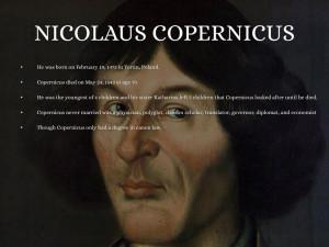 Nicolaus Copernicus Inventions Nicolaus copernicus