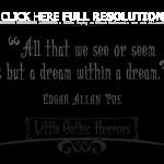 Back to Post :Edgar Allan Poe Quotes on Love: How to Love and to Be ...