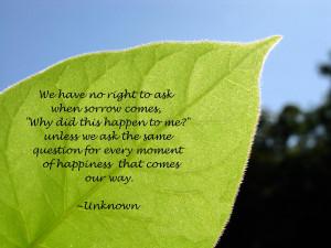 Sorrow quote #5
