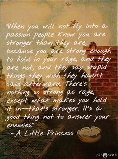 Little Princess, quote to live by…   best from pinterest