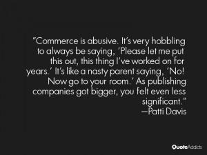 Patti Davis Quotes