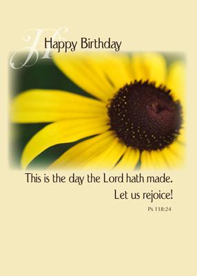 Home > RELIGIOUS > Birthday, Religious > 4020 Sunflower Birthday