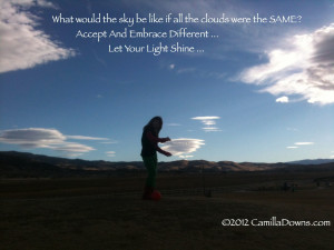 What would the sky be like if all the clouds were the SAME? Accept And ...
