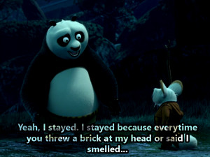 Thread: Some Valuable Life Quotes from Kung Fu Panda