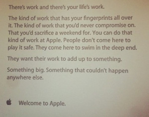 quote apple employees motivational quotes for staff members staff ...