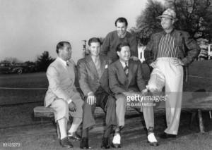 Gene Sarazen Horton Smith Byron Nelson Ralph Guldahl And Jimmy