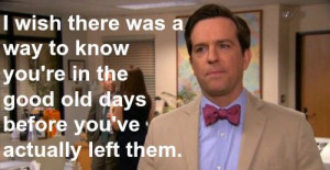 Ed Helms (Andy from The Office)