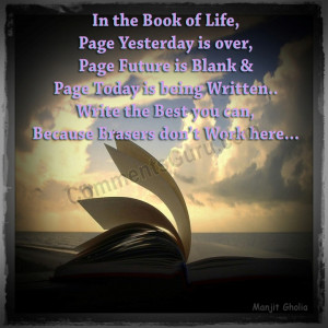 Quotes About Life Open Book...