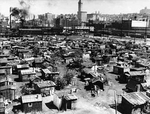 Shanty towns sprung up during the Great Depression as people lost ...