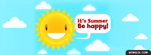 Its Summer Be Happy
