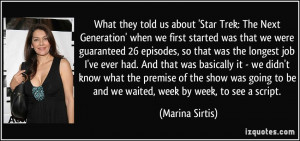 What they told us about 'Star Trek: The Next Generation' when we first ...