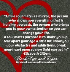 You Are My True Love Quotes True soulmate quote via www.