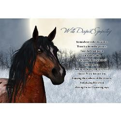 Quotes About Losing A Pet Horse ~ pet_horse_sympathy_card_loss_
