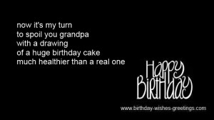 short grandpa birthday messages from grandkids -