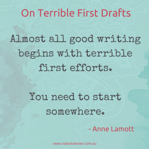 Anne Lamott's advice on writing | www.natashalester.com.au