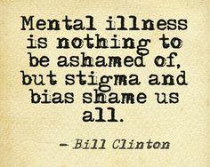 Stigma and bias shame us all... More
