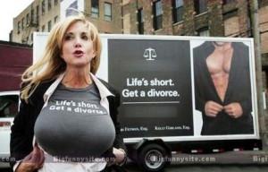 Funny Divorce Ad