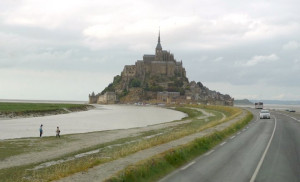 ELEANOR OF AQUITAINE TOUR–DAY TWO FALAISE AND MONT ST MICHEL