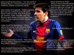 quotes – messi – 3 | The Football Addict Blog