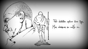Life Gandhi Quotes Wallpaper For Android Wallpaper with 1280x715 ...