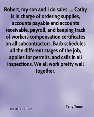 receivable, payroll, and keeping track of workers compensation ...