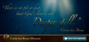... Ten Boom family. Inspire others by sharing these inspirational quotes