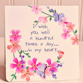 Wishing You Well Quotes View all Well Wishes quotes